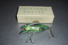 Very scarce Sutphin Darter in Frog in original box by Sutphin of Indiana