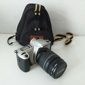 Canon EOS 300 With Zoom 28-80mm Lens Vintage Film Camera With Bag + Instructions