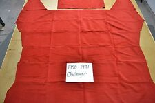 1970 70 1971 71 DODGE CHALLENGER RED CUSTOM CLOTH HEADLINER 5 BOW USA MADE