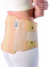 Contoured Sacro Lumbar Belt with Side Straps(Small, Medium, Large)Double elastic