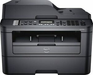DELL E515dw Wireless Laser printer MFP copy fax scan low count NO TONER/ NO DRUM