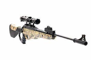 Bear River Hunting Air Rifle TPR 1200 Airgun + Scope .177 Pellet Gun 1350 fps