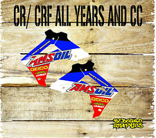 HONDA CR CRF 85 125 150 250 450 RAD SCOOPS GRAPHICS-STICKERS-DECALS-AMZOIL