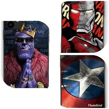 Iron Man, Thanos, Captain America Cases for iPhone 6s Plus, Xr, 11, 11 Pro Max