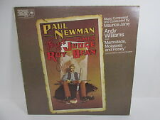 """Paul Newman - The Life and Times of Judge Roy Bean 12""""LP 1973 soundtrack Rare"""