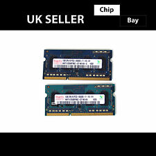 KINGSTON Hynix Ramaxel ddr3 2x1gb (2gb) 2rx8 pc3-8500s 1066mhz Laptop RAM di memoria