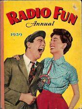 Radio Fun Annual 1959 - ft Joan & Johnny secret agents !
