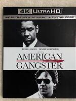 AMERICAN GANGSTER (2007) - 4K Ultra HD UHD disc only (No Blu-ray & Digital Copy)