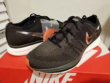 New in Box Mens Nike Flyknit Trainer Green Brown size 9.5 AH8396-004 Orange