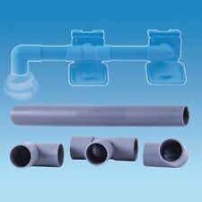 Caravan Waste Water Pipe Outlet Hose Drain Away Connection Kit 28.5m