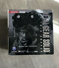 Gamecube Pack Metal gear solid the twin snakes - Jap - Complet
