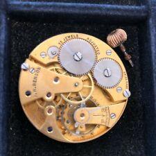 J. W. Benson Pocket Watch Movement 43MM Cyma 939 - 15 Jewels Complete & Running