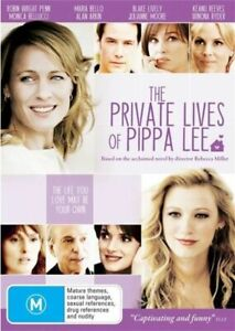 Private Lives of Pippa Lee DVD Drama Movie Keanu Reeves, Blake Lively