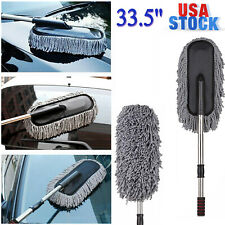 Auto Car Cleaning Duster Car & Home Wax Treated Large Handle Brush Dust Tool