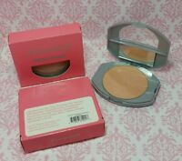 LOT 2 MoonLove Pressed Powder BEIGE Compact w/ Mirror & puff Face Makeup NEW