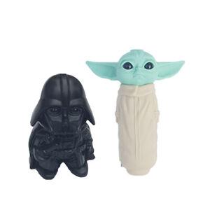 Baby Yoda Star Wars pipe and Darth Vader grinder Bundle the Mandalorian