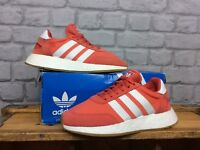 ADIDAS LADIES UK 3 1/2 EU 36 RED WHITE GUM I-5923 BOOST TRAINERS RRP £100
