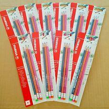 STABILO HB School Pencil 160 w/ Eraser - Economy Clearance Job Lot Bundle of 30