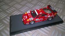 BBR 1/43 Ferrari f40 24h le Mans 1996