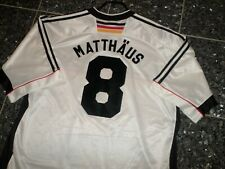 "UNIKAT!! DFB DEUTSCHLAND ""MATTHÄUS"" WM 1998 ADIDAS TRIKOT;  ""CHARITY"""