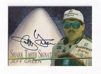 1997 Race Sharks SHARK TOOTH SIGNATURE Jeff Green BV$15! #477/800! SCARCE!