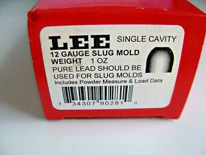 "LEE 90281 12 GAUGE 1 OUNCE SHOTGUN SLUG MOLD ""SINGLE CAVITY"""