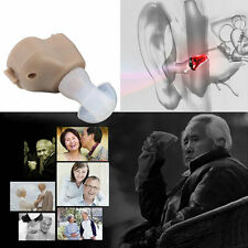 New Small In-Ear Voice Sound Amplifier Adjustable Tone Mini Hearing Ear Aid RX
