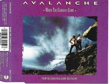 AVALANCHE - When the cowboys come CD SINGLE 3TR Synth-Pop 1992 Germany