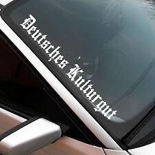 Deutsches Kulturgut XXL Frontscheibenaufkleber Sticker JDM OEM Auto Aufkleber