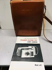 VINTAGE POLAROID CAMERA Model J33 Leather Case & Instruction Booklet..