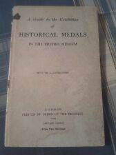 A Guide To The Exhibition Of Historic Medals In The British Museum 1924 Book