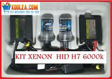 Kit HID H7 XENON 6000k -BLANC , SET BALLAST LAMP XENON  LIGHT BALAST SLIM POWER