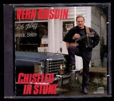 VERN GOSDIN - Chiseled In Stone - USA CD Columbia 1987 - Como Nuevo / Near Mint