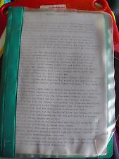 Original 1980s Musical Theatre Script - Rent Party by Alan Plater