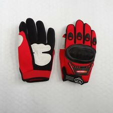 Kid Peewee Gloves (Age 4 to 13) BMX Dirt Quad Bike Knight Motocross Glove QQL