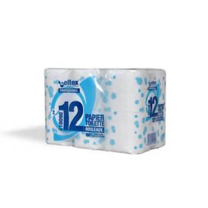 lot de 96 rouleaux papier toilette 100% cellulose