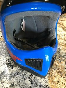 Vintage Polaris DOT Helmet Motocross Snowmobile ATV Men's Medium