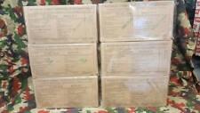 Lot de 6 rations RICR de combat armée française ration pack Menu 1/2/3/4/5/6