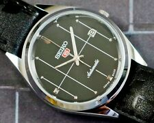 New listing VINTAGE UNUSED SEIKO 5 CAL.6309 AUTOMATIC WITH DATE JAPAN MEN'S WATCH #5-02623