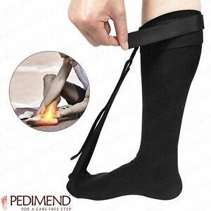 Pedimend Stretch Night Splint Sock for Plantar Fascitiis and Achilles Tendonitis