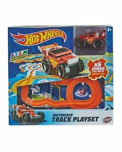 Hot Wheels Motorised Track Play 6 x Jumbo Tile Pcs Connect  Play Car Red UK