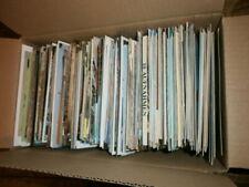 Paket Kiste Karton Ansichtskarten Postkarten  Konvolut AK Sammlung Kunst usw