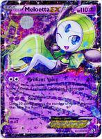 Meloetta EX RC11/RC25 Holo Rare Legendary Treasures Pokemon NM+ With Tracking