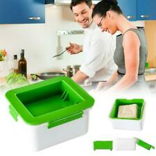 Tofu Press Marinating Dish Removes Moisture From Tofu Automatically