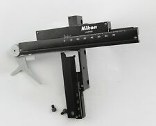 Nikon SC XY Stage Slide Clips Microscope