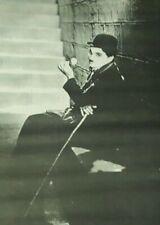 "Authentic Vintage Original Charlie Chaplin Poster 1969 39"" x 29"" City Lights"