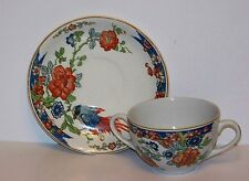 Wood & Sons Vintage China Double Handled Cup and Saucer