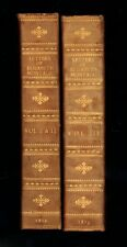 THE LETTERS OF ELIZABETH MONTAGU- 1810-1813 LEATHER BINDINGS - ANTIQUARIAN COPY