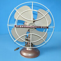 VTG Westinghouse Oscillating Fan Works Quiet Table Top Art Deco Y 35256 10LA4