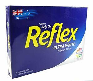 Copy Paper Reflex Ultra White 80gsm A3 Copy Paper 500 Sheet Ream Pack